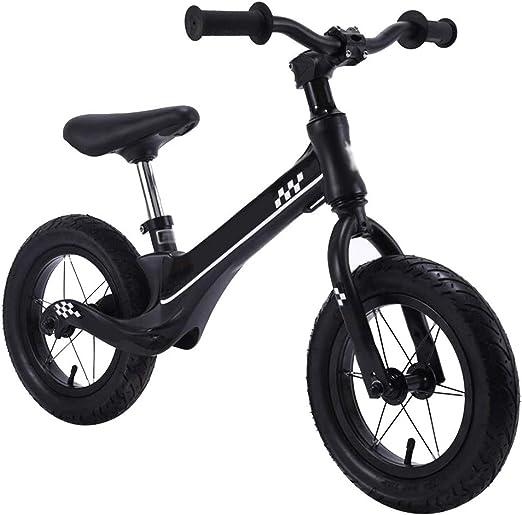 YJFENG-bicicleta de equilibrio Bicicleta Sin Pedales Bicicleta De Carreras Pedal De Reposo Absorción De Impacto Antideslizante 5kg,4 Colores (Color : Black, Size : 88x60cm): Amazon.es: Hogar