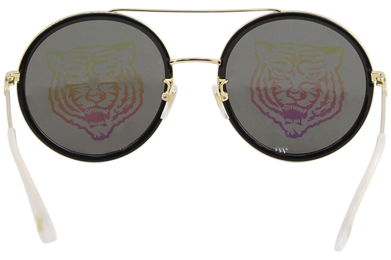 1c3caa08fbf Amazon.com  Sunglasses Gucci GG 0061 S- 014 GOLD GREEN  Clothing