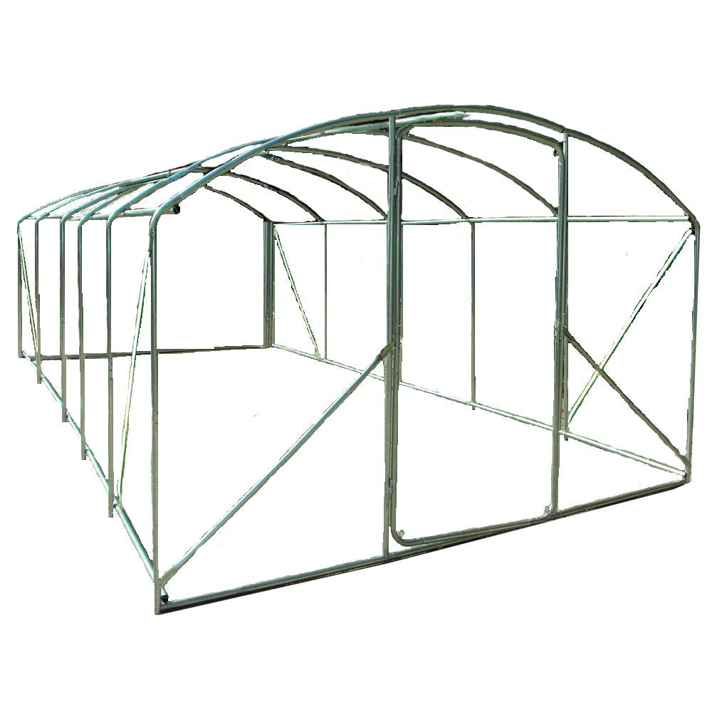 Crocodile Trading Frame Only 6m x 3.5m Extreme, High Side Extra Wide, 32mm Frame. Full Height Bracing for the more serious grower.