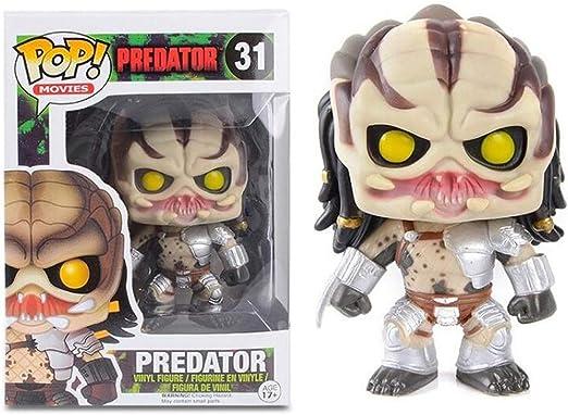 Luckly77 10CM Predator Pop Película Figura Alien vs Predator Exquisito Paisaje Decoración Adornos: Amazon.es: Juguetes y juegos
