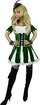 Homme Deluxe Robin Des Bois Peter Pan Médiéval Costume Déguisement Adulte Costume Chapeau