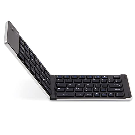 ÁpexTech F66 Universal plegable Mini Inalámbrico recargable teclado para iOS / Android / Windows iPad iPhone