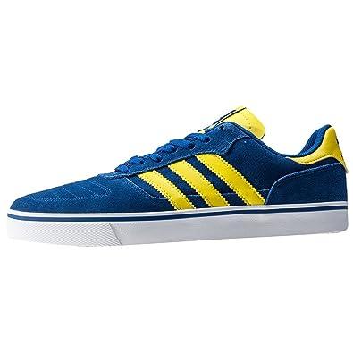 Adidas originali uomini copa, te lo skateboard scarpa blu / giallo