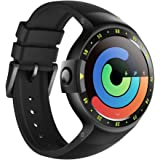 Ticwatch S Smartwatch-Knight,1.4 inch OLED Display, Android Wear 2.0,Compatible with iOS and Android, Google Assistant (Certified Refurbished)