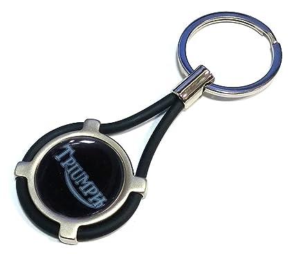 NUEVO llavero Triumph coche moto Keyring BK: Amazon.es ...