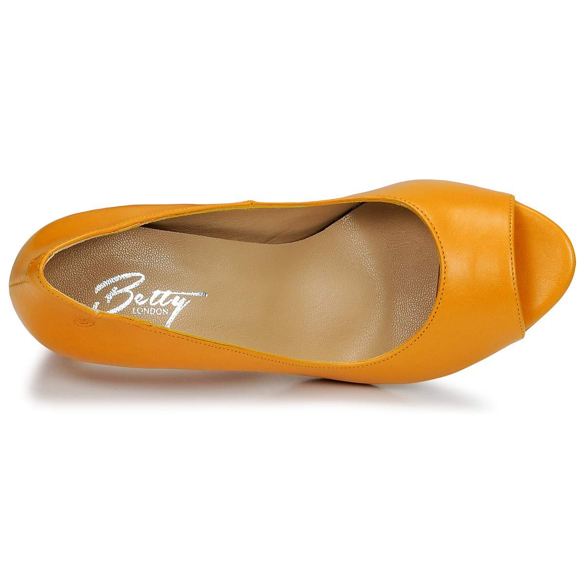 Betty Betty Betty London Emana Pumps Damen Gelb Pumps af7954