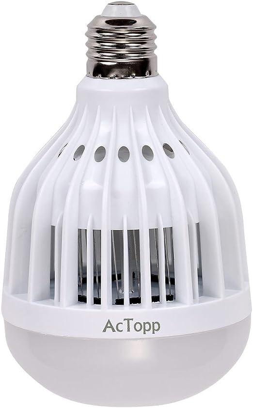 AcTopp Bombilla Antimosquitos 3 en 1 LED Light Bulb Luz ...