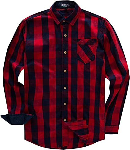 Belingeya Camisa de Vestir Slim fit para Hombre Camisa de ...