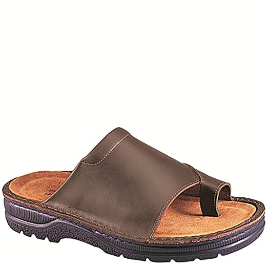 Naot Mt. Louis Scandinavian Men Sandals, Buffalo Leather,Size - 41