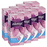 Always Dailies Feminine Thong Liners, 42 Count - Pack of 8 (336 Total Count)