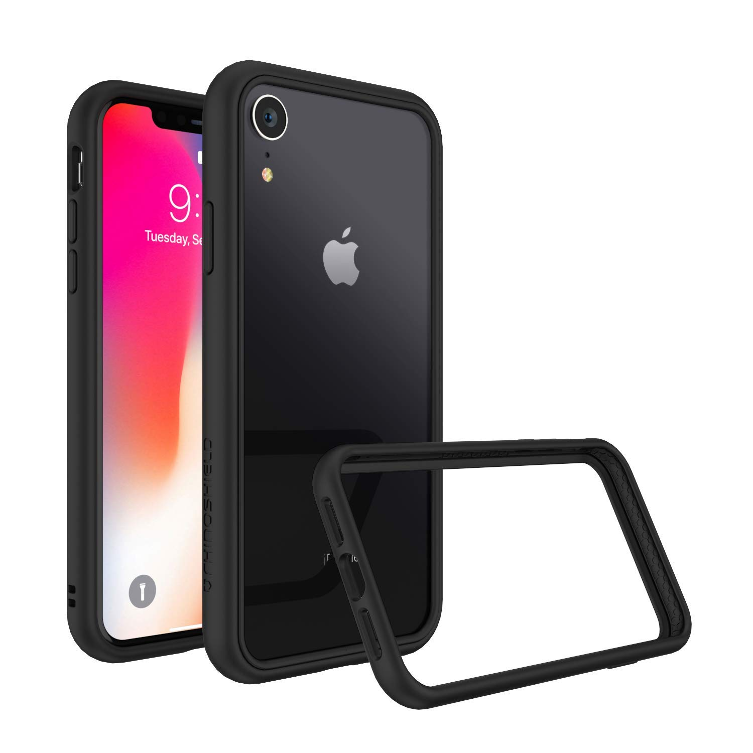 Rhinoshield Mod Nx Case Cover For Iphone Xr With Rim Button Frame Clear Back Plate Black Buy Online In Barbados Rhinoshield Products In Barbados See Prices Reviews And Free Delivery