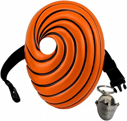 Naruto Tobi High Quality Resin Masks Party Show Cosplay Halloween Horror Mask