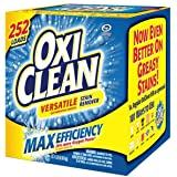 """OxiClean Max Efficiency ZAZ Stain Remover (252 Loads) (.252 Loads""""Max"""")"""