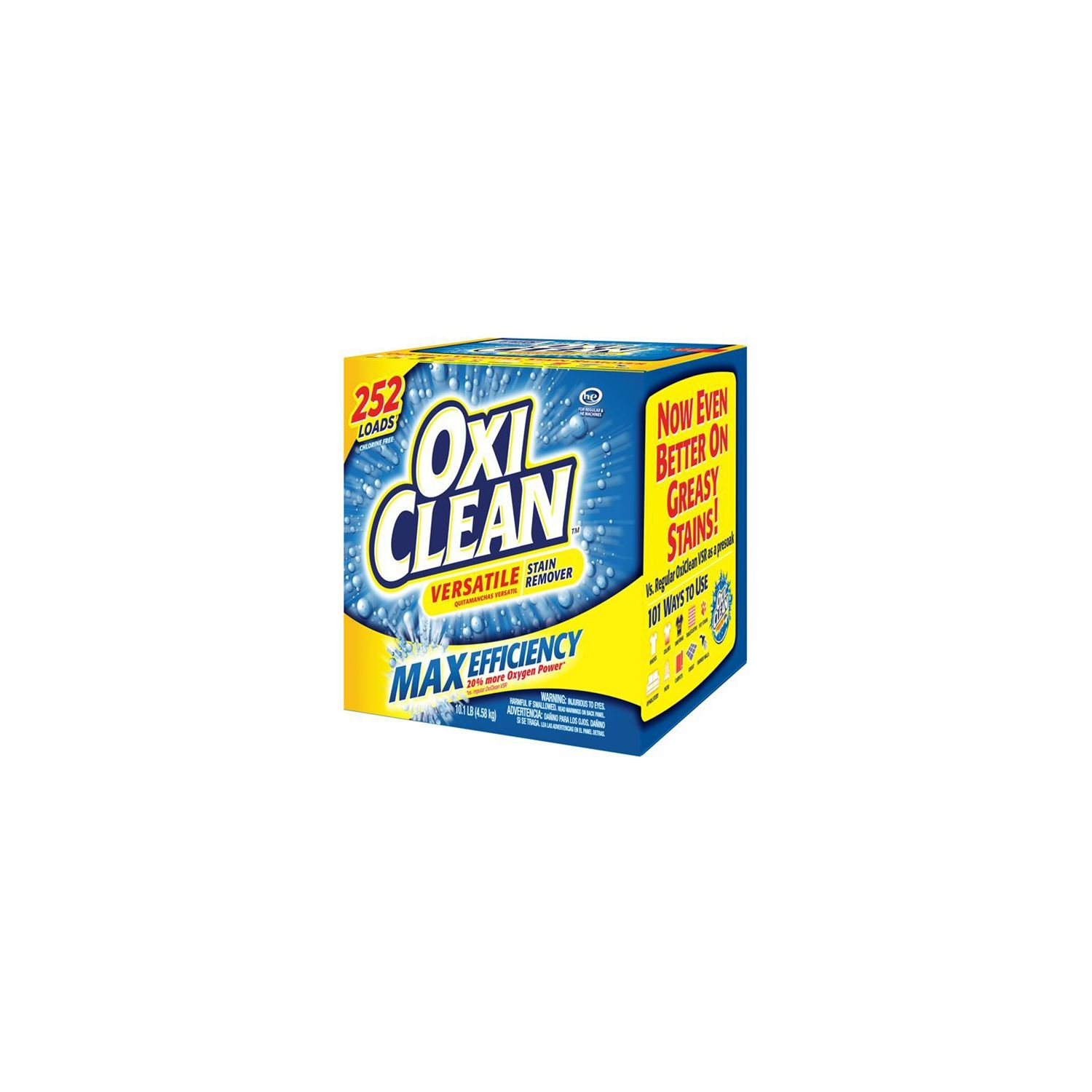 OxiClean Max Efficiency Stain Remover (252 Loads)