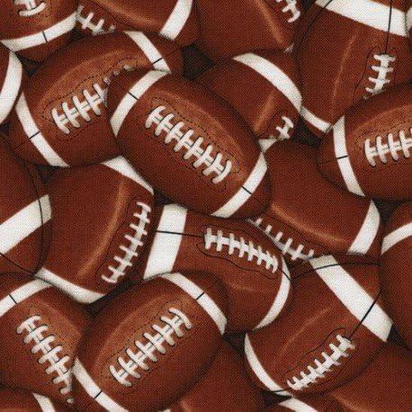 Tela de deportes con balón de rugby fútbol americano de Timeless ...