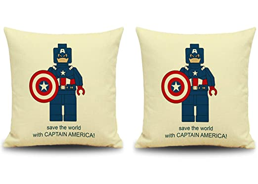 CityEast Marvel Comics Superheroes Funda de Almohada de ...