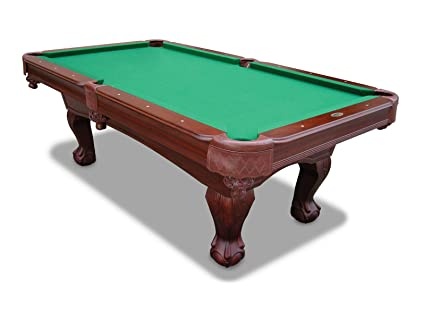 Amazoncom Sportcraft Inch Kingsford Billiard Table With Cue - Sportcraft 1926 pool table
