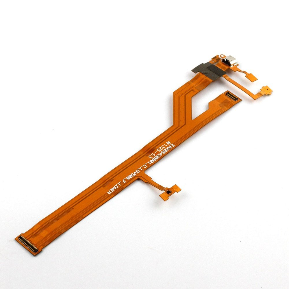 XQ - Tail Inserted USB Charging Port Flex Cable For LG G Tablet 8.3 V500 Replacement by xinqiutouchthefuture (Image #2)