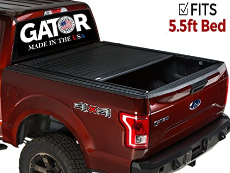 gator recoil retractable tonneau truck bed cover toyota tundra 55 ft bed w
