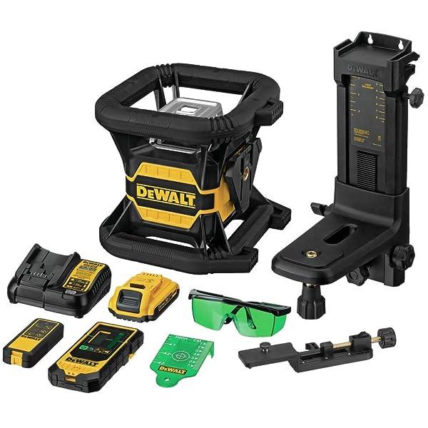 DEWALT Green Rotary Laser Level DW080LGS