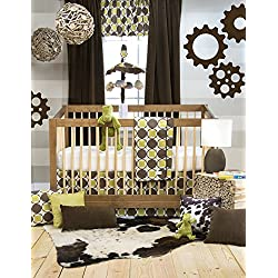 Glenna Jean Sweet Potato Urban Cowboy Boy's 3 Piece Crib Bedding Set