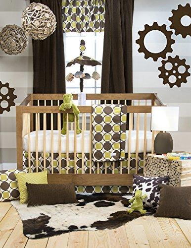 Sweet Potato Crib Bedding Set, Urban Cowboy, 3 Piece