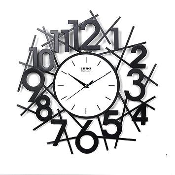 Amazon.de: Uhren kreative Wand-LEISE Wohnzimmer/Uhren aus ...