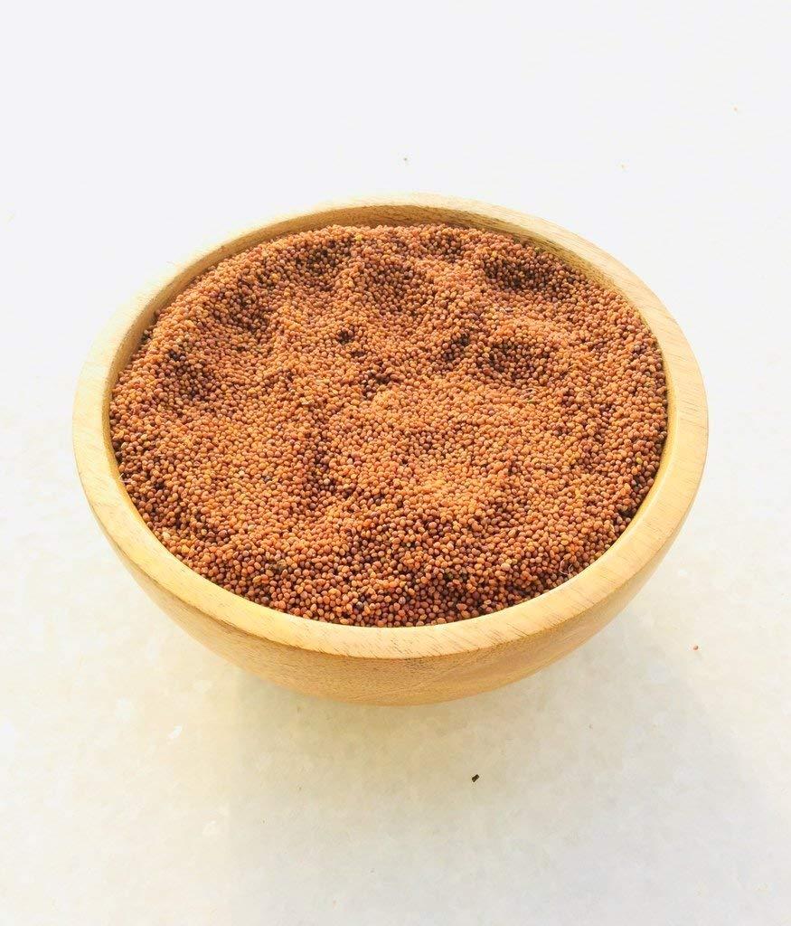 HOMEMADE BROWN MUSTARD Powder - Indian Mustard Seeds , Premium Quality , (16)