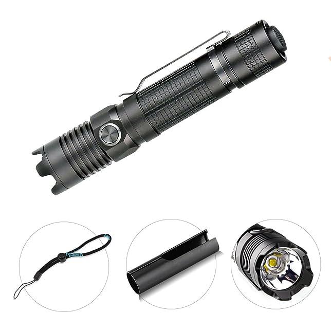 3 opinioni per Olight M1X Striker- Torcia Tattica Militare, LED Super luminosa 1000lm, 5