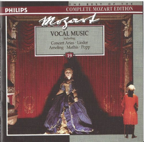 The Best of the Complete Mozart Edition Volume 19: Vocal Music