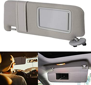 Sun Shade Visor for Toyota Camry 2007-2011 2010 Left Driver Side WITHOUT SUNROOF