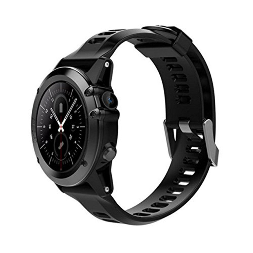 H1 Smart Watch Android 5.1 OS Smartwatch MTK6572 512MB RAM 4GB ROM GPS SIM 3G WCDM Heart Rate Monitor 5.0 M HD Camera IP68 Waterproof 30M Diving Sports Wristwatch (black) by YIMOHWANG