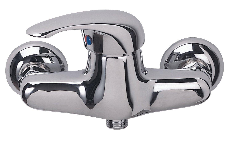 DP Grifería NAR-01 Grifo Monomando de Ducha con maneta Horizontal, Plateado: Amazon.es: Bricolaje y herramientas