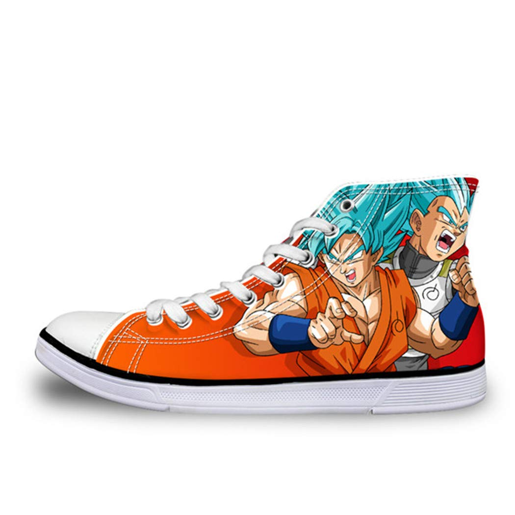 Anime Dragon Ball Z Print Mens High-top