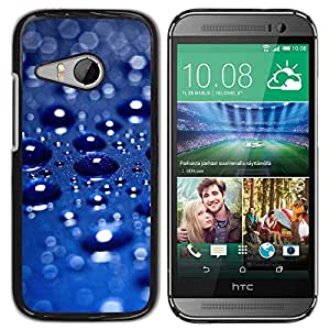 Paccase / SLIM PC / Aliminium Casa Carcasa Funda Case Cover - Rain Car Metallic Blue Sun Pearlescent - HTC ONE MINI 2 / M8 MINI