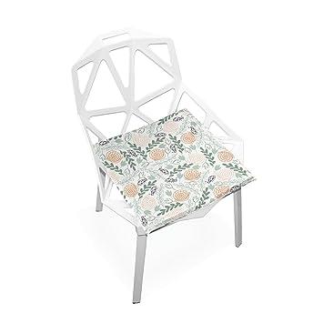 Amazon.com: Xinxin cojín de asiento caracol hojas cojines ...