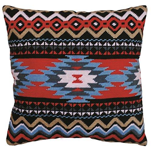 Tobin Southwest Needlepoint Kit, 12 by 12-Inch, Stitched in Yarn by Tobin