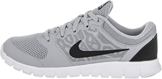 Nike - Zapatillas Deportivas para bebé, Modelo Flex 2015 RN, Gris (Gris/Negro), 2 M Toddler US: Amazon.es: Zapatos y complementos