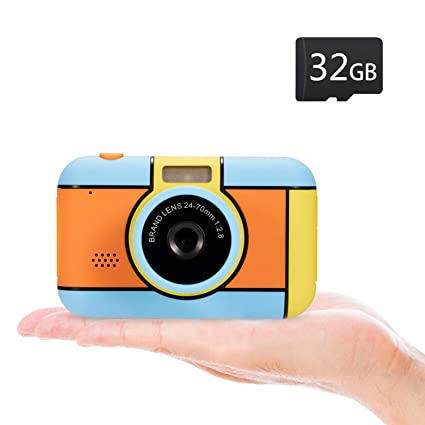 Best Gifts For 8 Year Old Boy 2020.Abdtech Kids Camera Birthday Gifts For Age 3 4 5 6 7 8 Year Old Girls Boys Cute Toy Digital Camera For Toddlers Compact Children Camera With 2 4