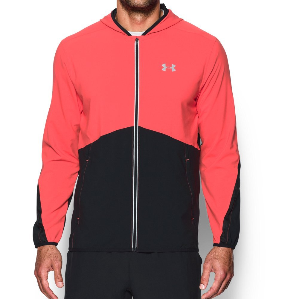 Under Armour Men's Run True Jacket,Marathon Red (963)/Reflective, XXX-Large