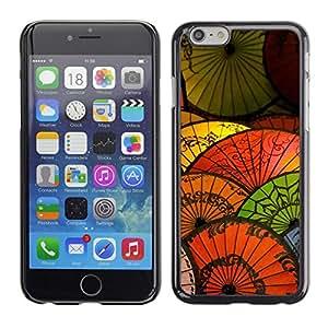 Cubierta protectora del caso de Shell Plástico    iPhone 6    Oriental de papel china Paraguas japon¨¦s @XPTECH