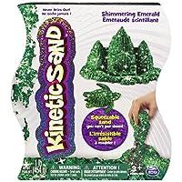 Arena cinética La única y única, 1 libra de arena esmeralda verde mágica brillante para edades de 3 años en adelante