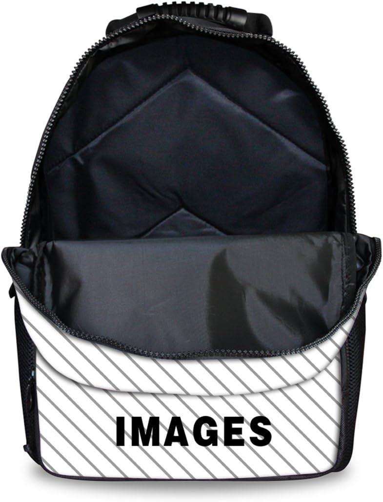Cartoon Face Print Kids School Backpack Bookbag Travel Daypack