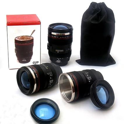 f6e1dc930c MFEIR® Taza de la lente de la cámara taza de café Copas de la lente ...