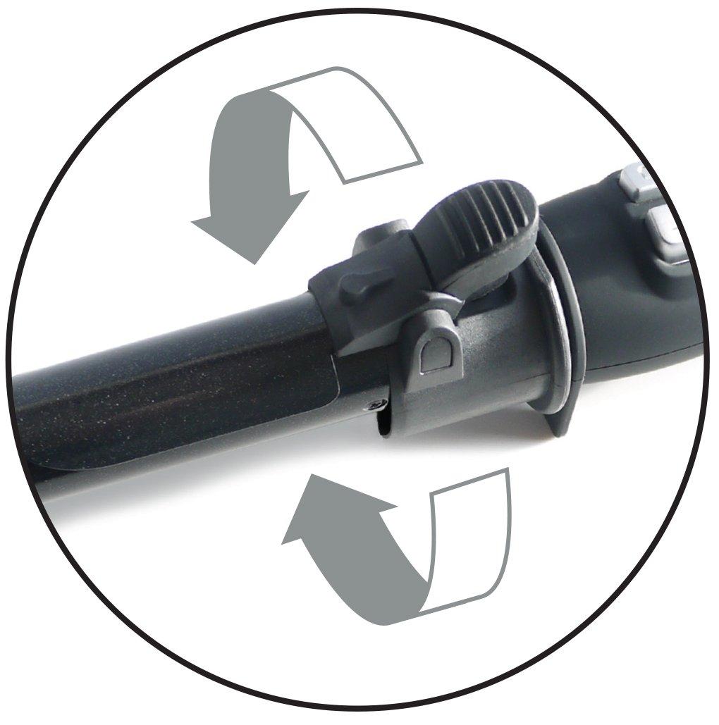 Corioliss ElectroCurl 32 mm - Rizador profesional, con barril de cerámica motorizado de doble rotación