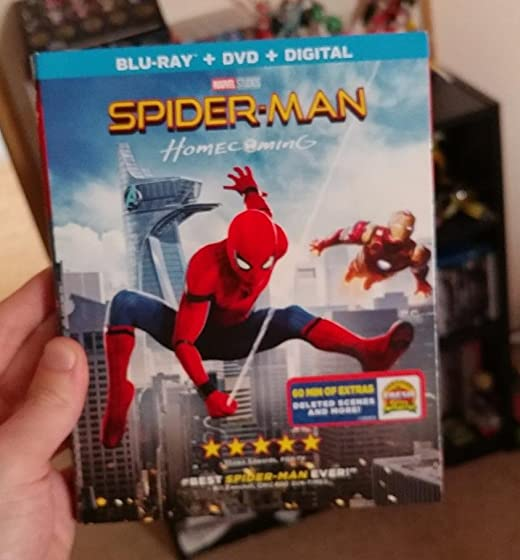 Spider-Man: Homecoming (Plus Bonus Content) Spider-Man!!