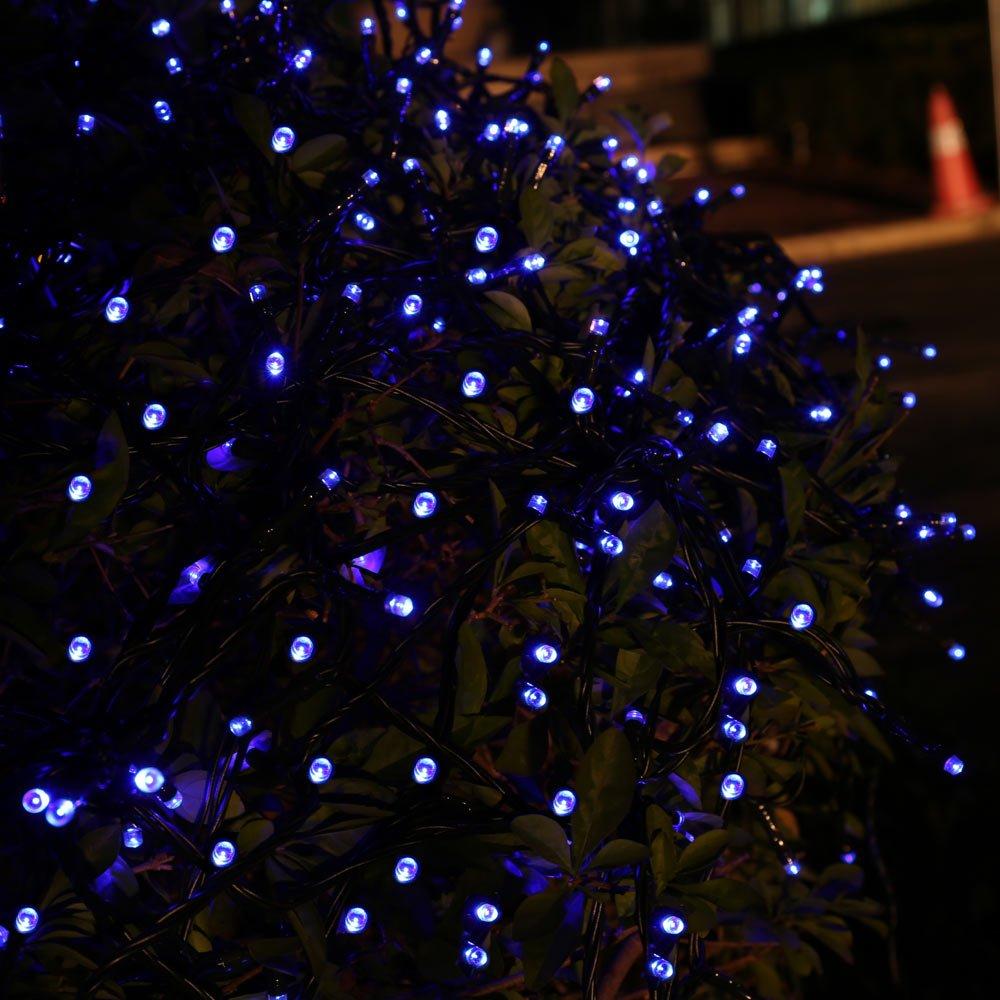 Amazon.com : Qedertek Solar String Lights, 72ft 200 LED Fairy ...