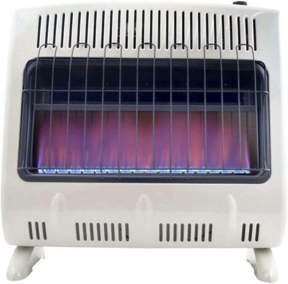 30,000-BTU Natural Gas Heater for Indoor Home Use