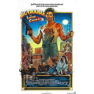 Cool Boys BIG TROUBLE IN LITTLE CHINA Movie Poster 24inch