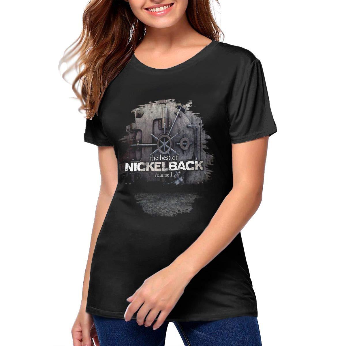 Nickelback The Best Of Nickelback Volume Woman S Soft Short Sleeve Ts Shirts